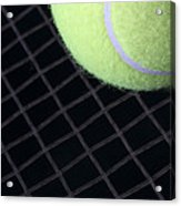 Tennis Anyone Acrylic Print by John Van Decker