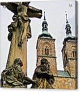 Tepla Monastery - Czech Republic Acrylic Print