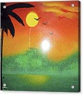 Tequila Sunrise Acrylic Print