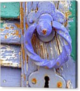 Terrace Door Acrylic Print