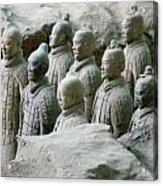 Terracotta Army Xi'an Acrylic Print