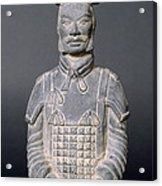 Terracotta Warrior Soldier Acrylic Print