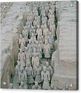 Terracotta Warriors In Xian In China Acrylic Print