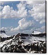 Teton Range Acrylic Print