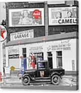 Texaco Station Acrylic Print