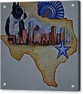Texas Bound 3 Acrylic Print