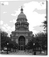 Texas Capitol Bw6 Acrylic Print