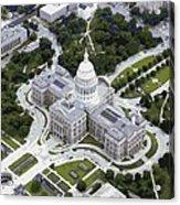 Texas Capitol Color 16 Acrylic Print