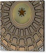 Texas Capitol Star Acrylic Print