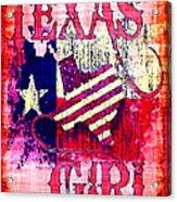 Texas Girl Acrylic Print