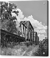 Texas Railroad Bridge Acrylic Print