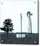 Texas Ranch View Acrylic Print