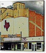 Texas Theater II Acrylic Print