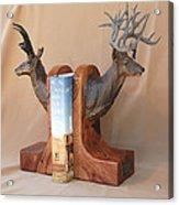Texas Trophies Acrylic Print by J P Childress