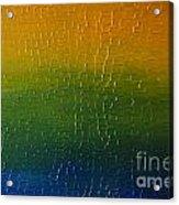 Textured Colors Acrylic Print