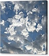 Textured Skies Acrylic Print