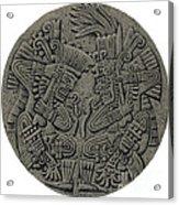 Tezcatlipoca And Huitzilopochtli Acrylic Print by Photo Researchers