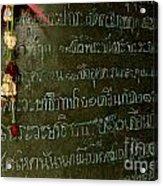 Thai Bell 2 Acrylic Print