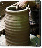 Thai Earthenware Acrylic Print
