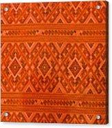 Thai Patterns. Acrylic Print by Chatchawin Jampapha