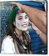 Thai Smile Acrylic Print