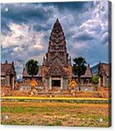 Thai Temple Acrylic Print