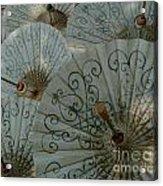Thai Umbrellas 3 Acrylic Print
