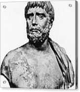 Thales, Ancient Greek Philosopher Acrylic Print by Science Source