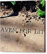 Thank Heaven For Little Girls Acrylic Print