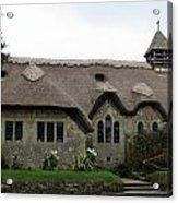 Thatched Church Acrylic Print