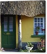 Thatched Cottage, Adare, Co Limerick Acrylic Print