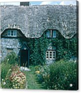 Thatched Roof, England Acrylic Print