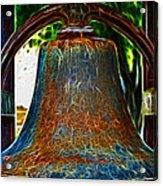 The Academy Bell Fractal Acrylic Print