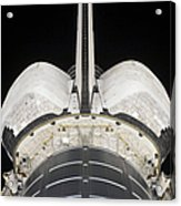The Aft Portion Of The Space Shuttle Acrylic Print