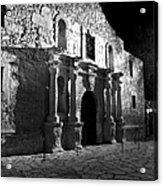 The Alamo At Night Acrylic Print