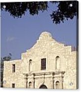 The Alamo San Antonio Texas Acrylic Print