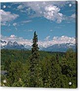 The Alaska Range Acrylic Print