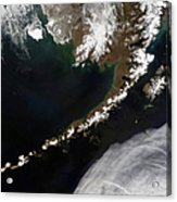The Aleutian Islands And The Alaskan Acrylic Print