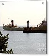 The Alpena Ship Acrylic Print