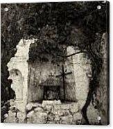 The Altar 2 Bw Acrylic Print