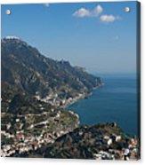 The Amalfi Coast From Ravello Acrylic Print