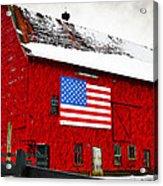 The American Dream Acrylic Print