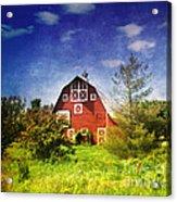 The Amish House Acrylic Print