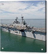 The Amphibious Assault Ship Uss Wasp Acrylic Print