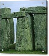 The Ancient Ruins Of Stonehenge Acrylic Print