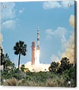 The Apollo 16 Space Vehicle Is Launched Acrylic Print