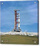 The Apollo Saturn 501 Launch Vehicle Acrylic Print