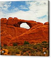 The Arches Of Utah Acrylic Print