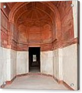The Architecture And Doorways Of The Humayun Tomb In Delhi Acrylic Print