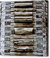 The Art Of Wood 2 Acrylic Print by Randall Weidner